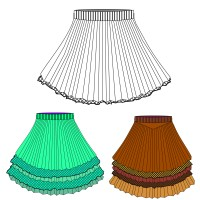 Юбки одежда на шаттере https://www.shutterstock.com/g/Executioner