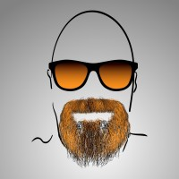 Борода - Хипстер на шаттер