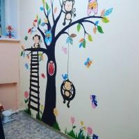 Роспись кабинета психолога в Детском саду