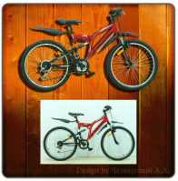 Обтравка велосипеда