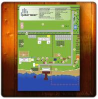 Карта для компании Пионер