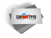 Визитка Сангруп 5 (разработка лого Сангруп)