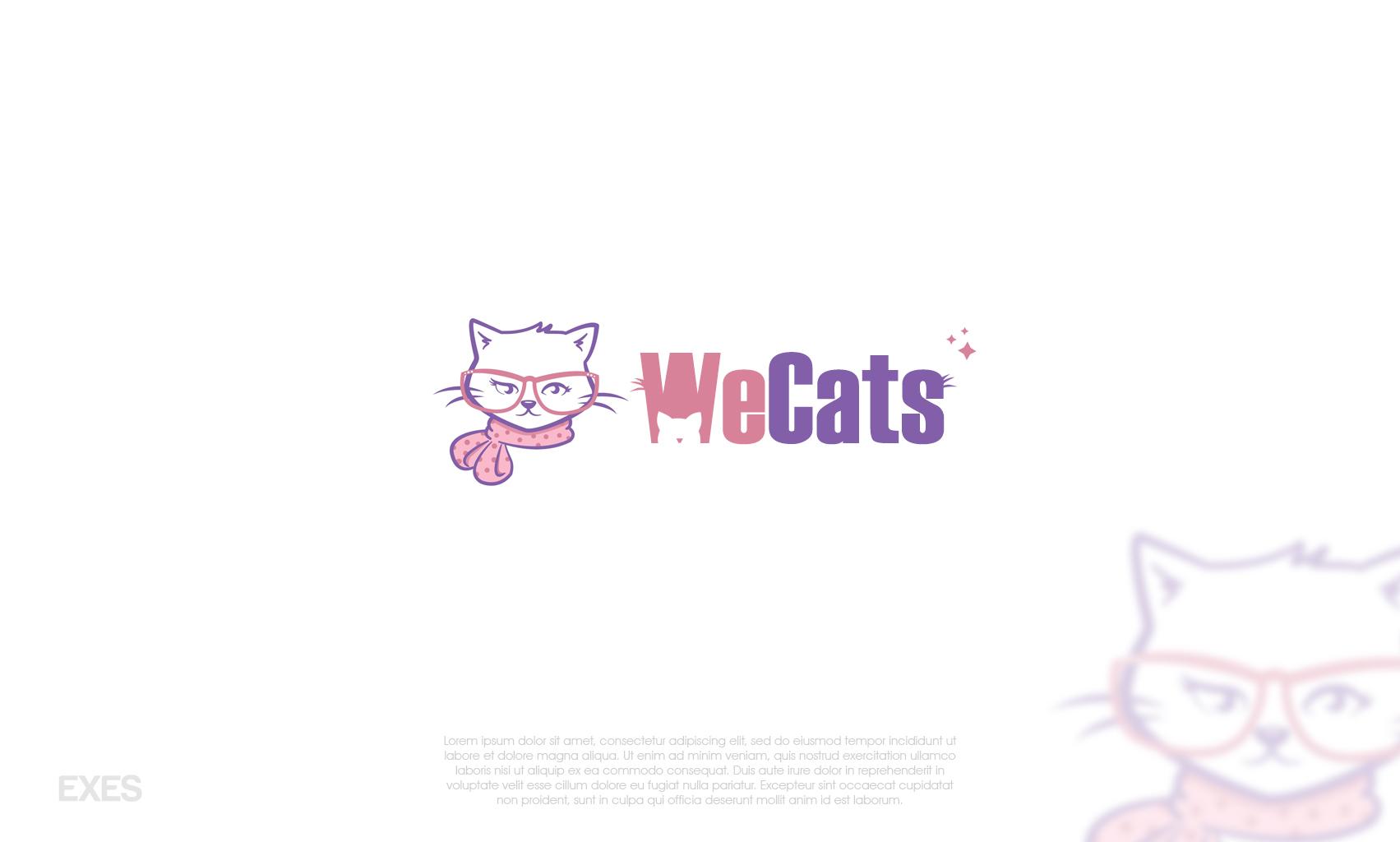 Создание логотипа WeCats фото f_3175f1af89d3c9cb.jpg