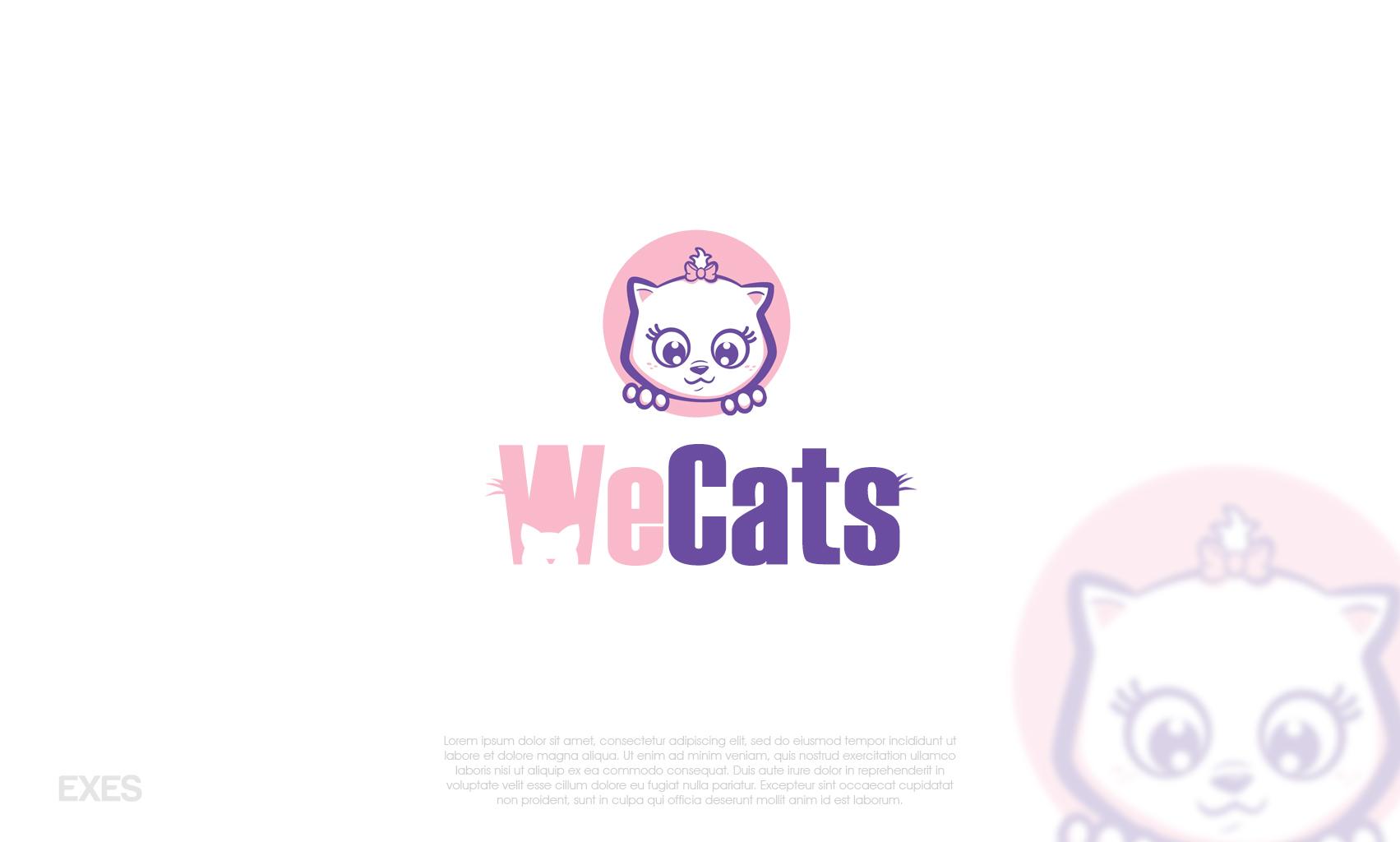 Создание логотипа WeCats фото f_3535f1af89a614e8.jpg