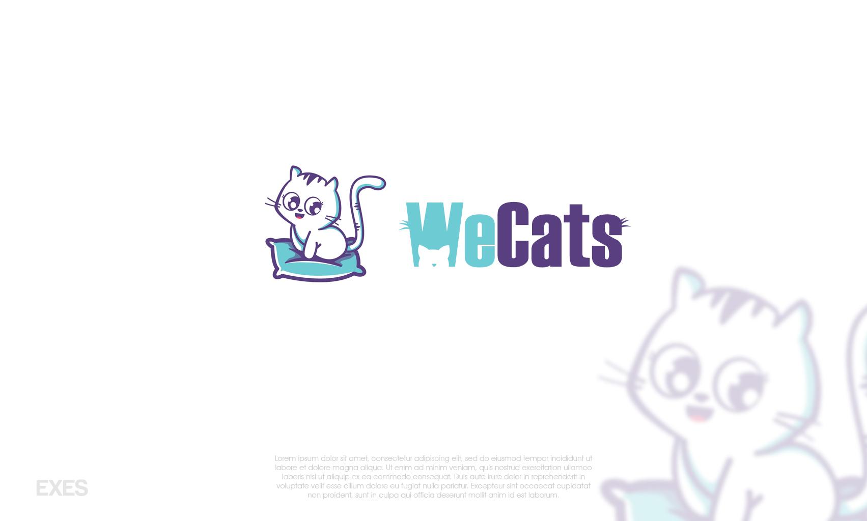 Создание логотипа WeCats фото f_5185f1af8942c083.jpg