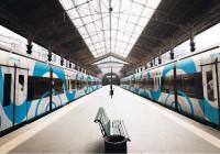 Оклейка пассажирских поездов в Крыму