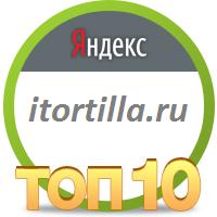 9 место в Яндекс для сайта итортила