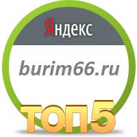 3 место в Яндекс для бурим66