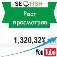 Продвижение в Ютубе - рост просмотров за 1 месяц!