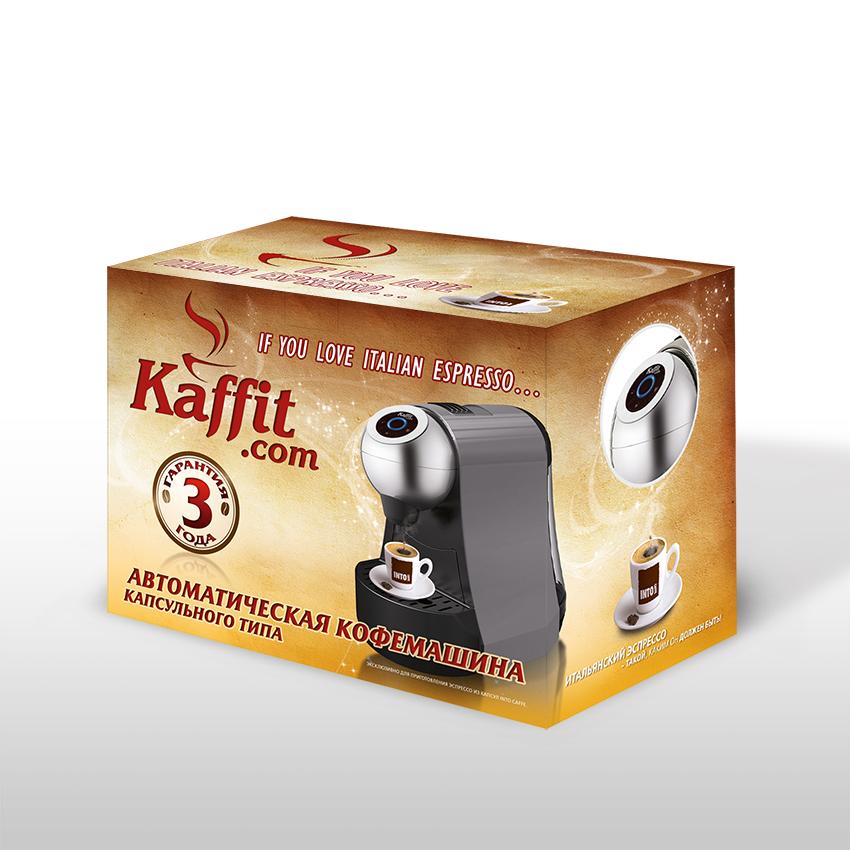 разработка упаковки для кофемашины