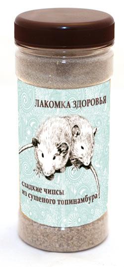 Дизайн этикетки на ПЭТ-банку лакомства для домашних грызунов фото f_30753a844f38a3a0.jpg