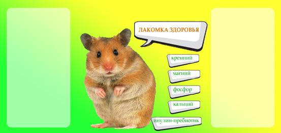 Дизайн этикетки на ПЭТ-банку лакомства для домашних грызунов фото f_52553a8507cbe08e.jpg