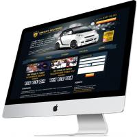 Дизайн сайтов (Прокат автомобилей)