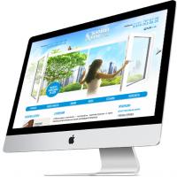 Дизайн сайтов (Пластиковые окна)