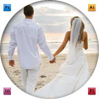 Дизайн+вёрстка свадебный каталог