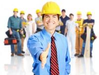 Главная страница для строительной компании