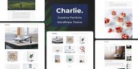 Charlie - Light Minimal Creative Portfolio WordPress Theme