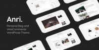 Anri - WooCommerce WordPress Theme