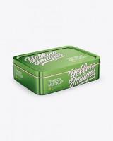 Metallic Tin Box