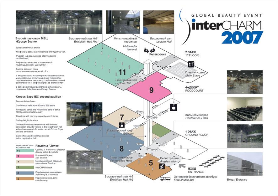 ИНФОГРАФИКА. Схема выставки
