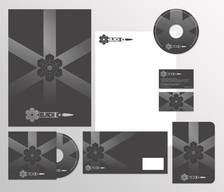 "Логотип + Фирменный стиль для компании ""BLACK ICE"" фото f_5645715fde839267.jpg"