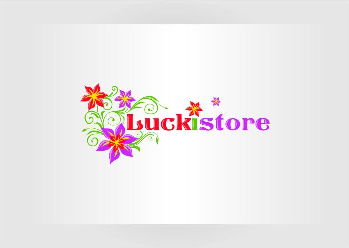 """Логотип интернет-магазина """"Luckistore"""""""