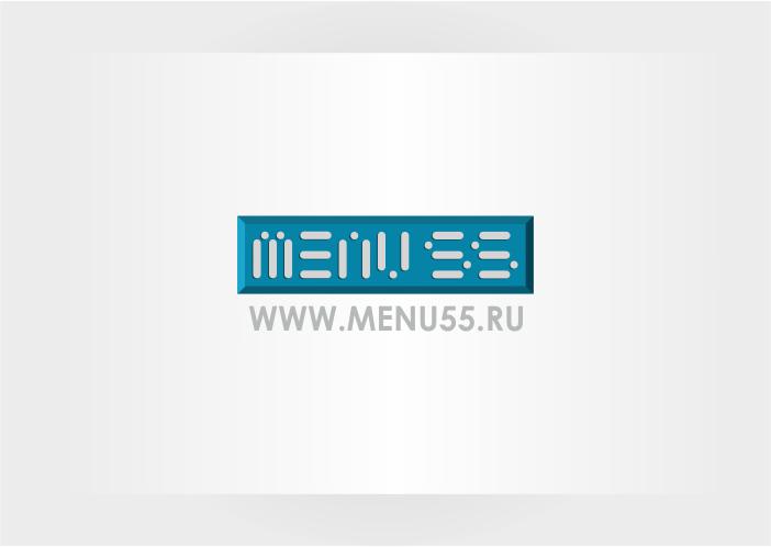 Логотип для сайта menu55.ru