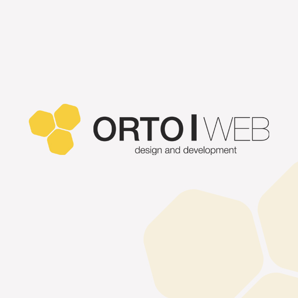 """Логотип студии """"Orto   web"""""""