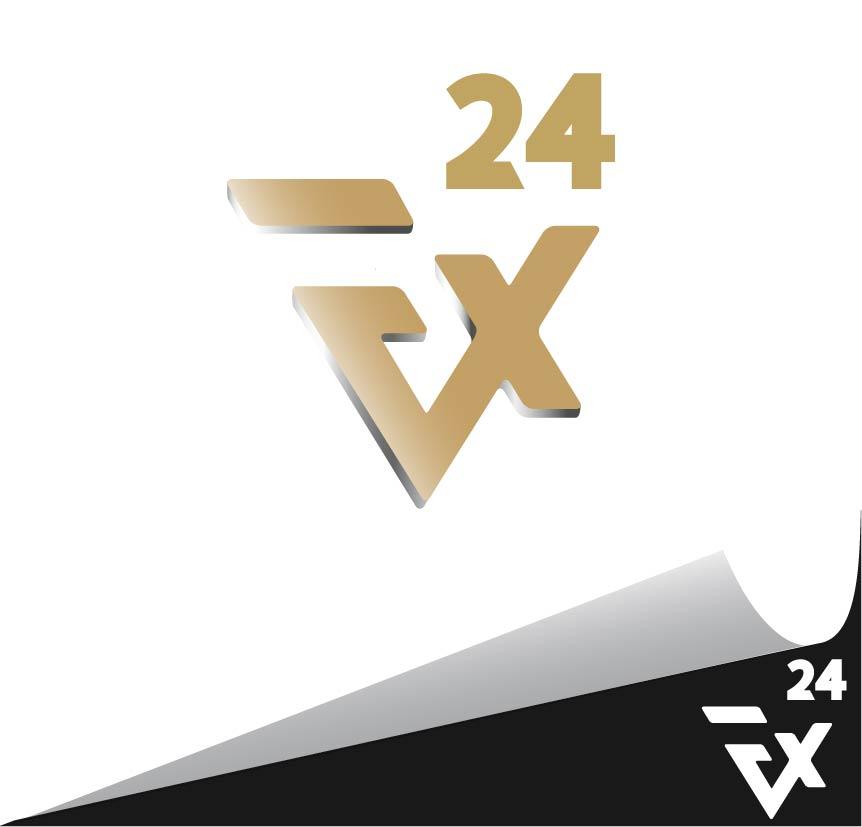 Разработка логотипа компании FX-24 фото f_408545cb0f1a408b.jpg