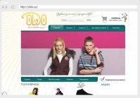 Интернет магазин одежды Oldo (joomla  + opencart)