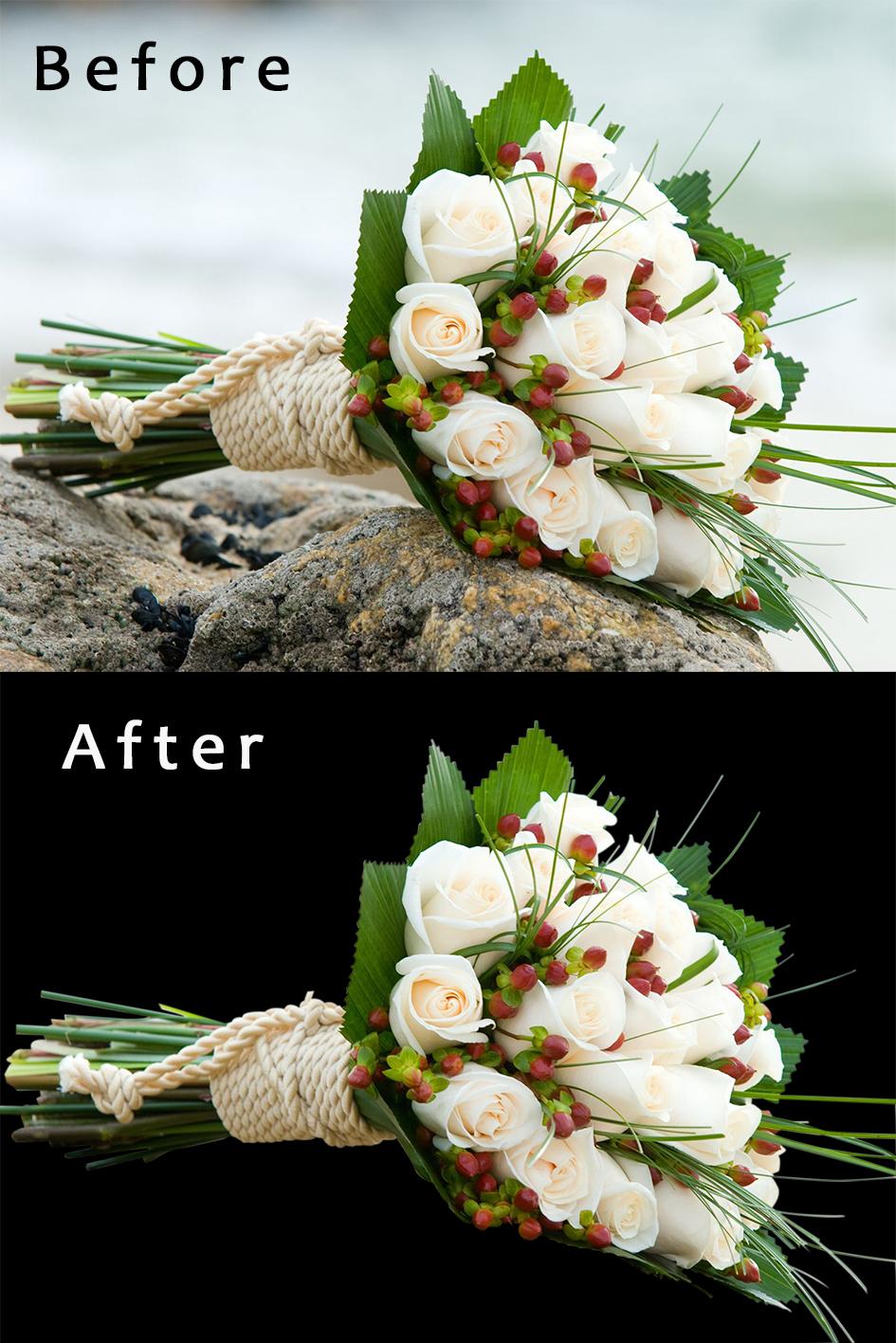 Обтравка - Букет цветов