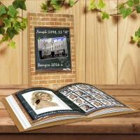 Альбом выпускной 11 класс 4 разворота - Доска