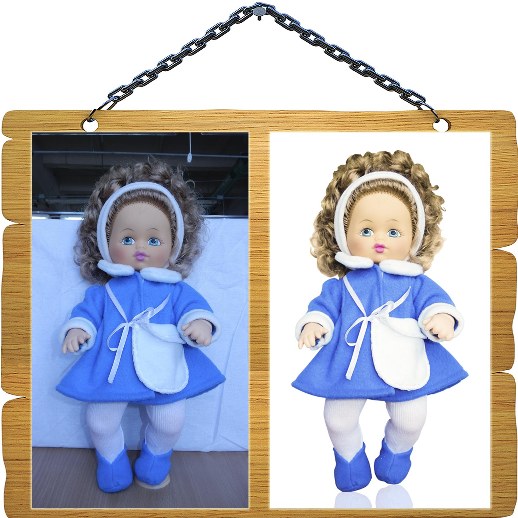 Обтравка и цветокоррекция - Кукла