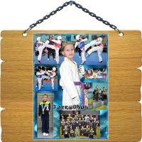Коллаж из фото - Тaekwondo