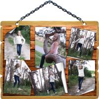 Коллаж из фото - В лесу