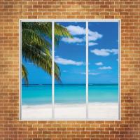 Фотообои Вид из окна 1,7 х1,7 м