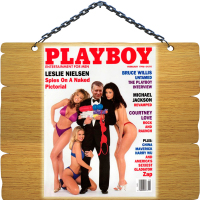 Фотомонтаж - Замена головы на обложке журнала