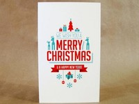 Дизайн оригинальных открыток (новогодние, корпоративные, рисованные)