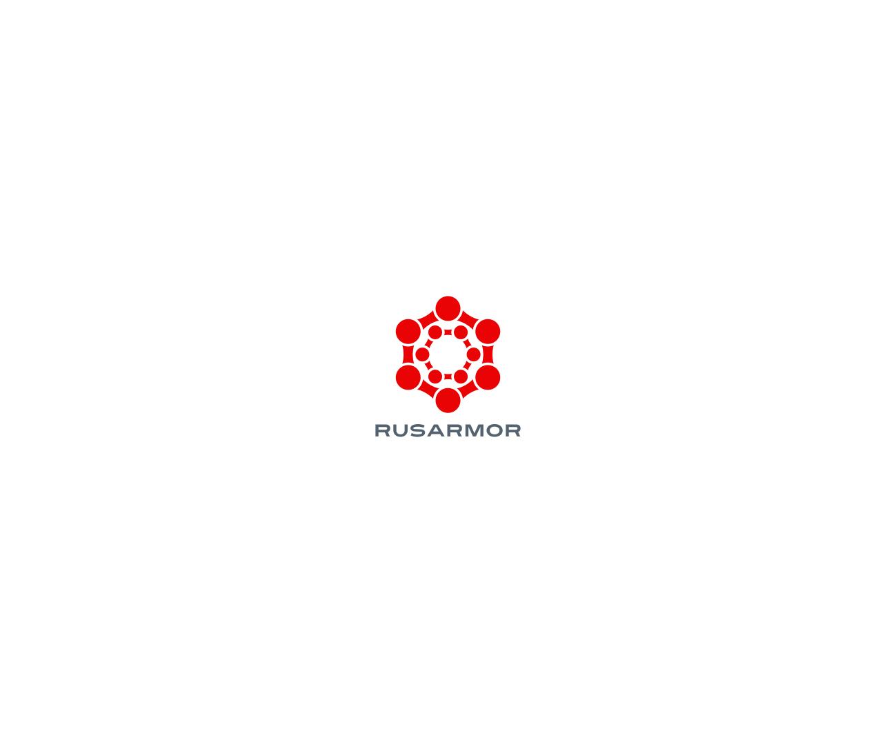 Разработка логотипа технологического стартапа РУСАРМОР фото f_1255a0e206d5484a.png