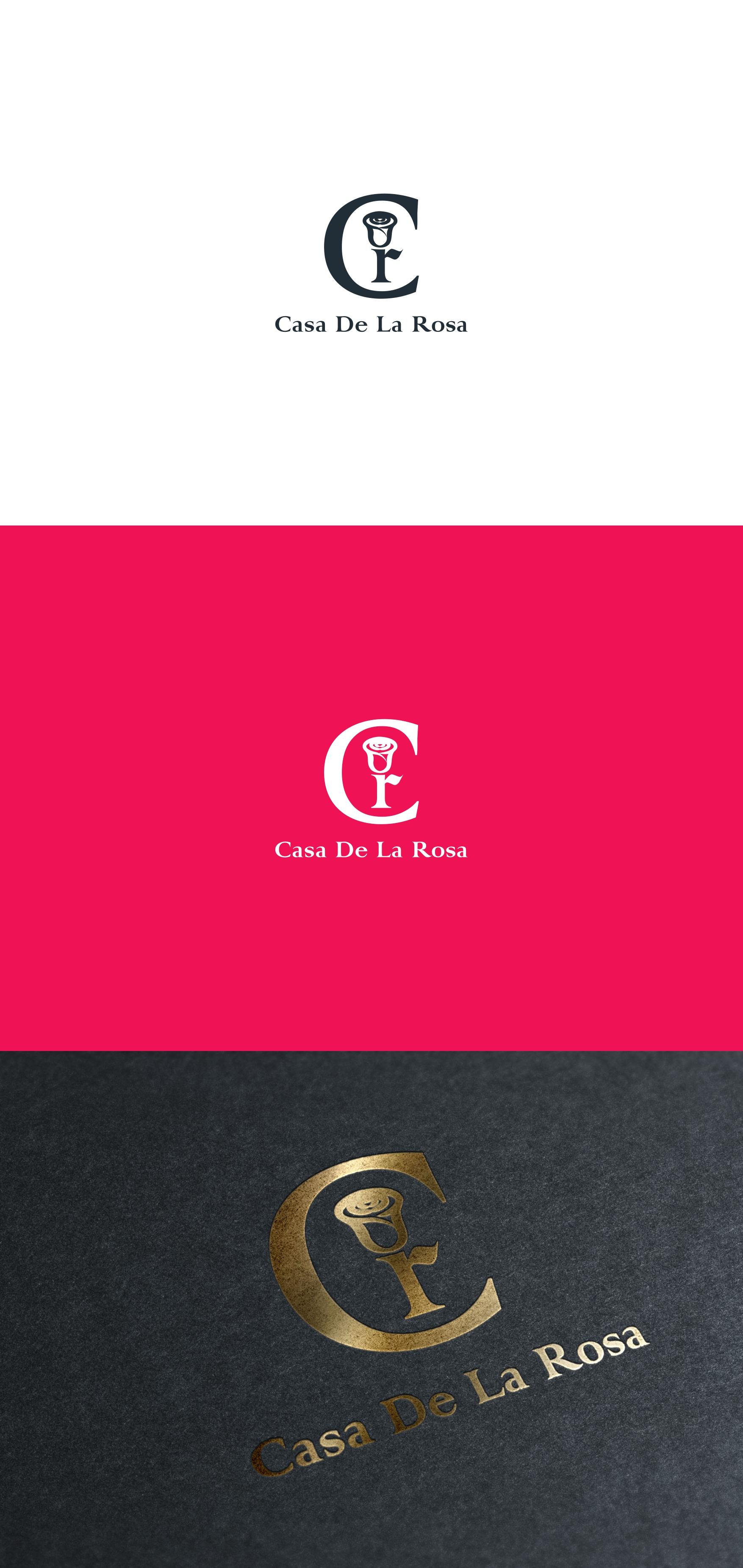 Логотип + Фирменный знак для элитного поселка Casa De La Rosa фото f_3345cd82b40c2535.jpg