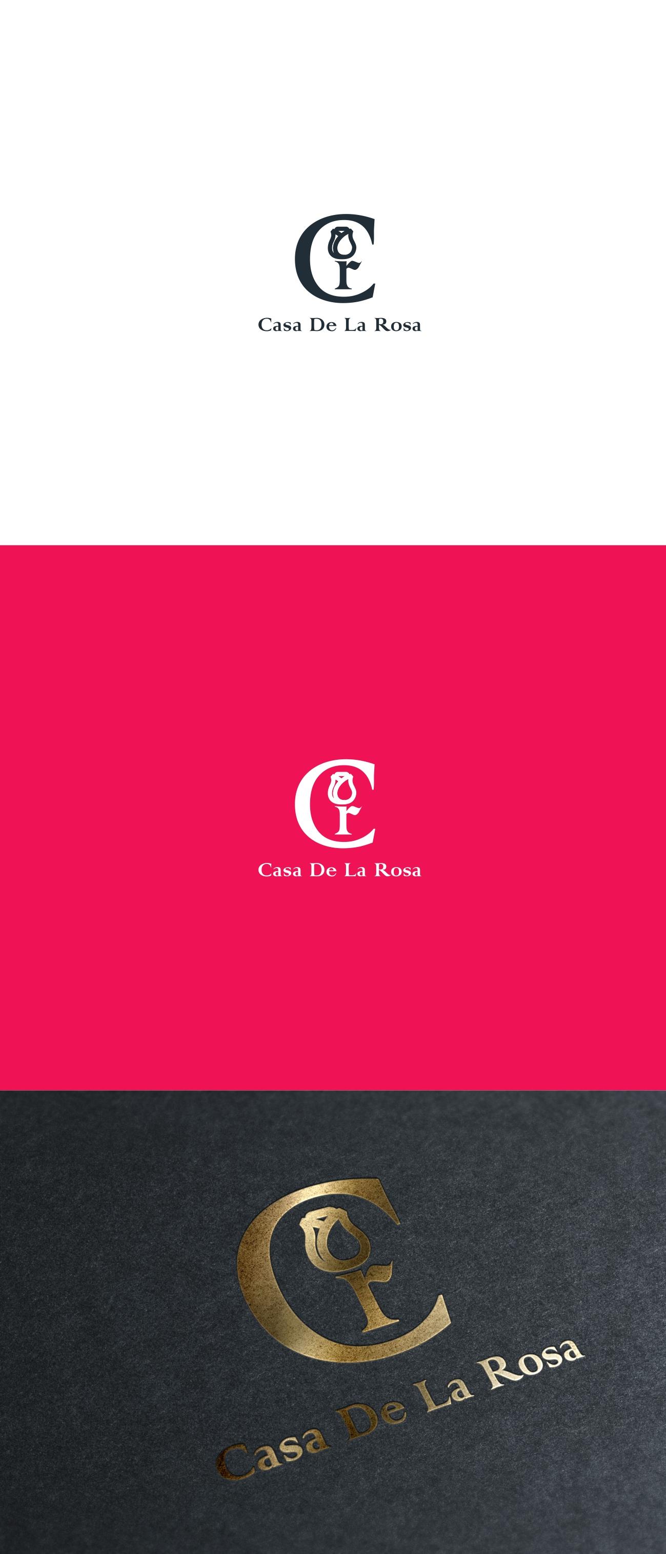 Логотип + Фирменный знак для элитного поселка Casa De La Rosa фото f_8785cd8301c6f775.jpg