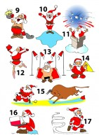 Деды Морозы разных стран часть 2