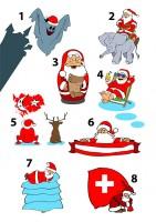 Деды Морозы разных стран часть 1