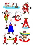 Деды Морозы разных стран часть 3