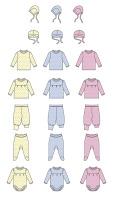 Отрисовка детской одежды