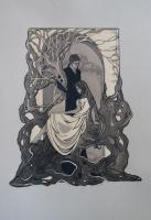 Иллюстрация к стихам М.Цветаевой