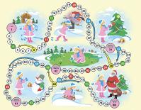 Новогодняя игра-ходилка для детей