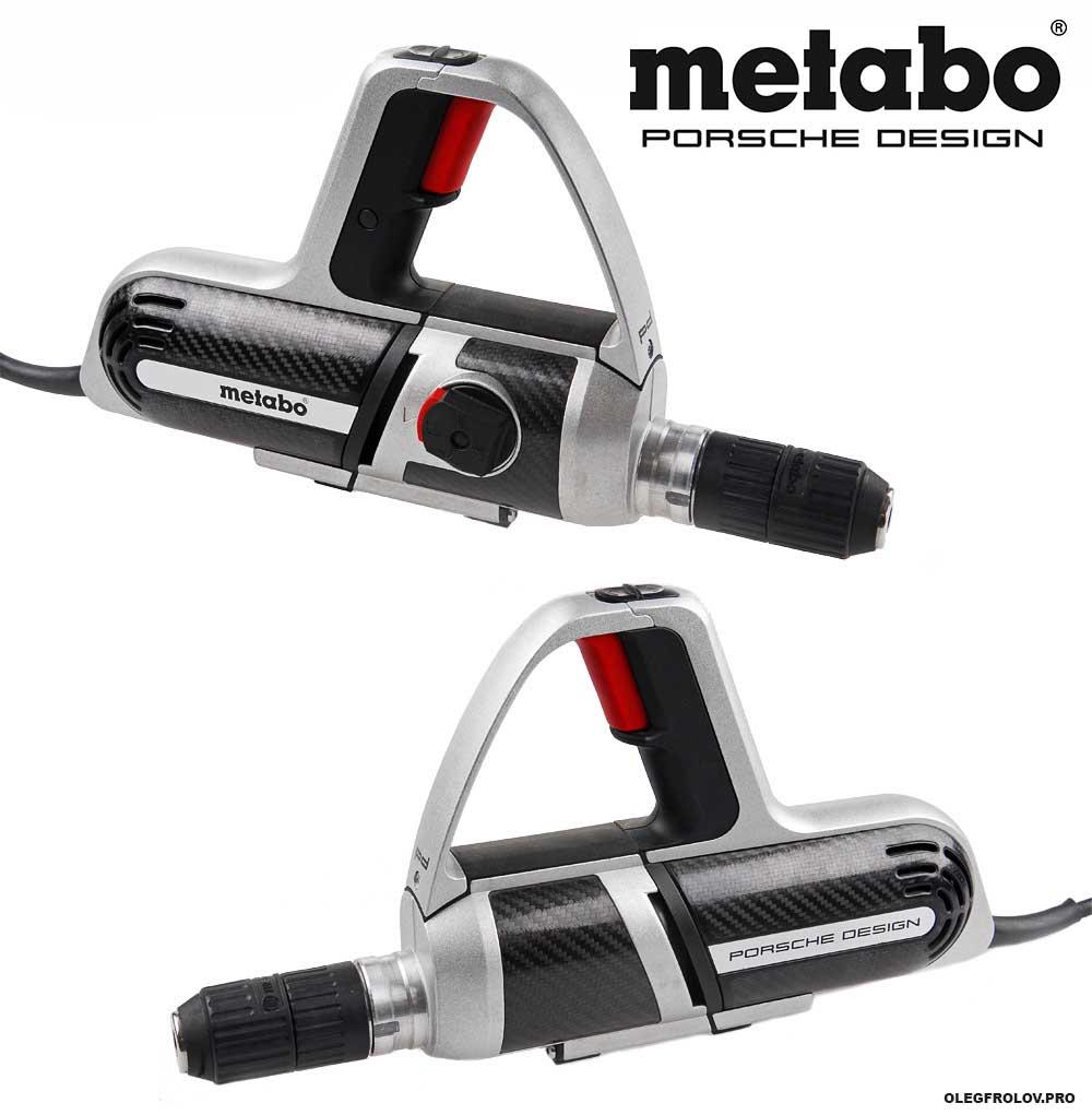 Рекламная фотосъемка строительных инструментов Metabo Porsche Design