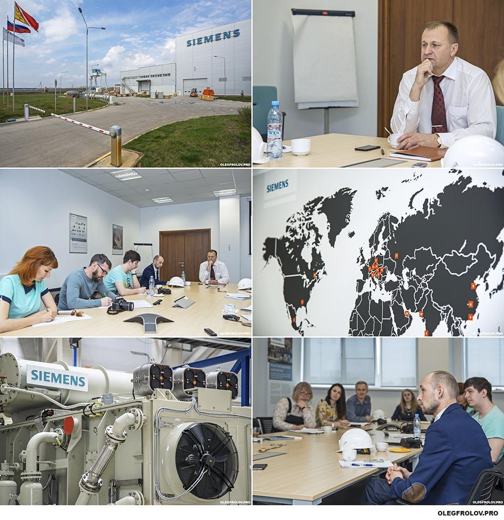 Промышленная фотосъемка на предприятии Siemens в Воронеже
