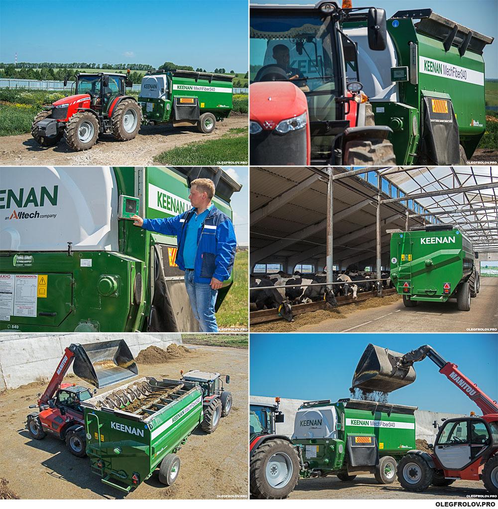 Рекламная фотосъемка сельскохозяйственной техники
